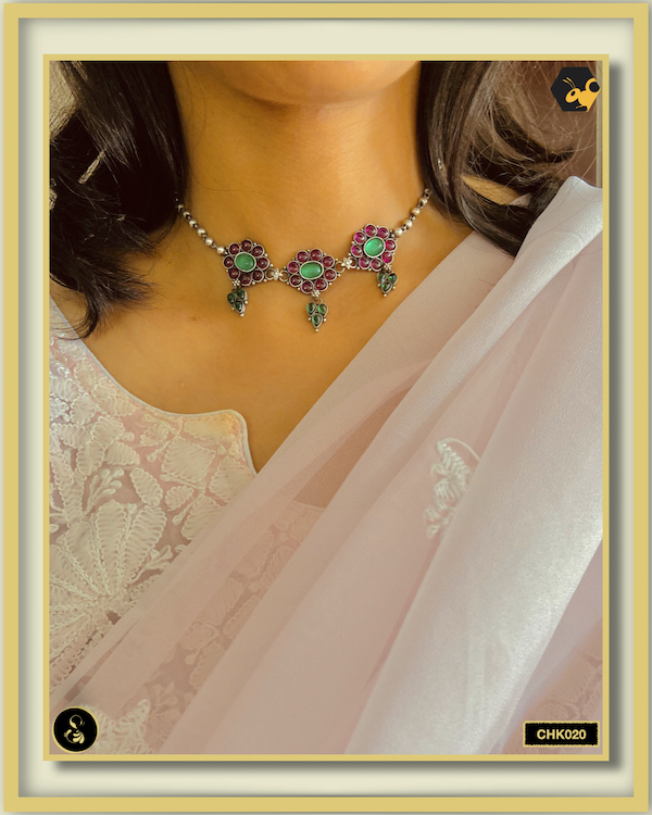 92.5 Silver Jewellery Necklace CHK020