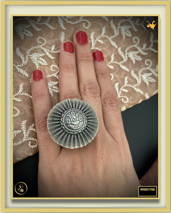 92.5 Silver Jewellery Ring RING1709