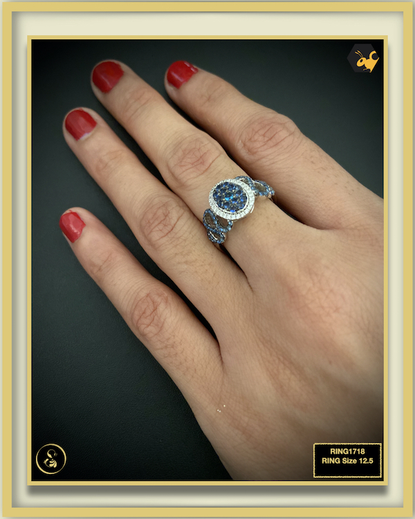 92.5 Silver Jewellery Ring RING1718