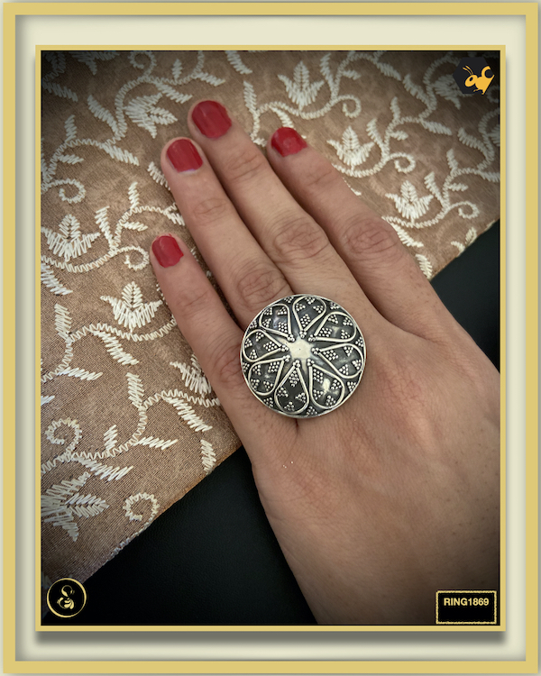 92.5 Silver Jewellery Ring RING1869