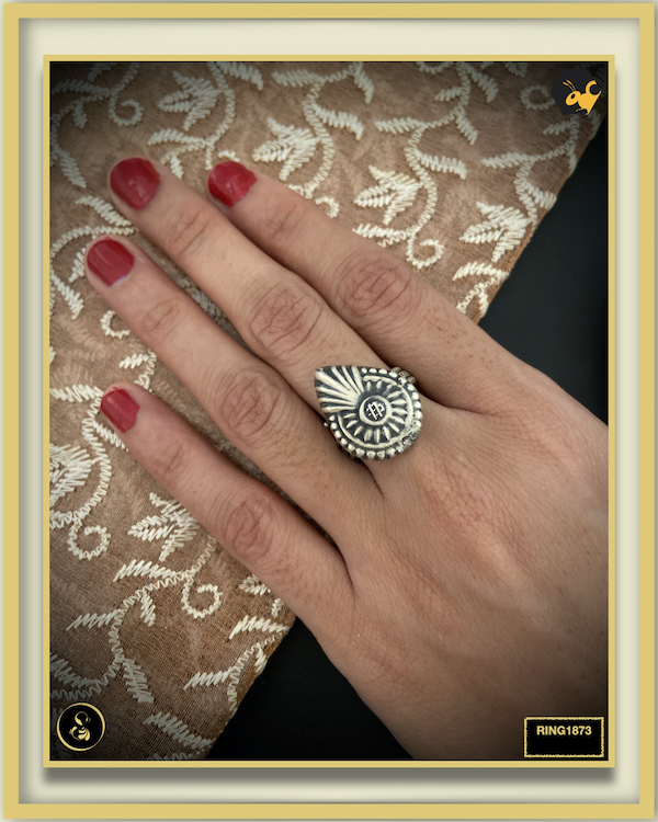 92.5 Silver Jewellery Ring RING1873