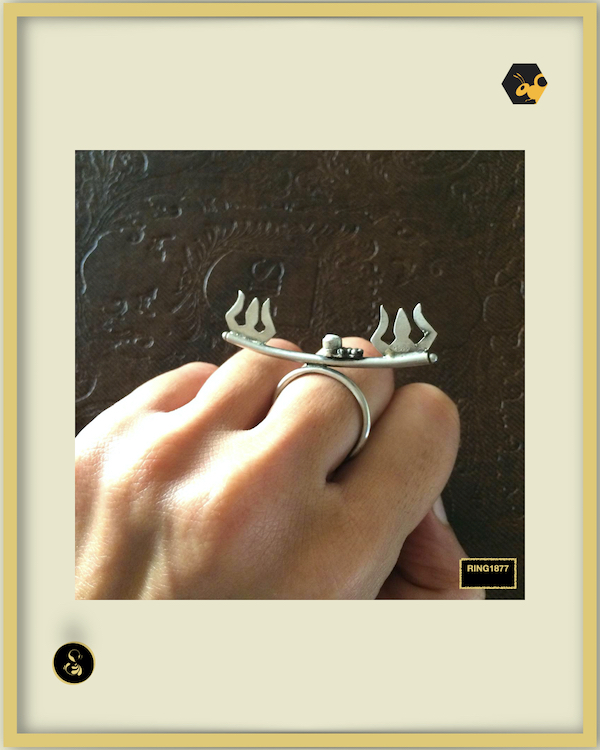 92.5 Silver Jewellery Ring RING1877