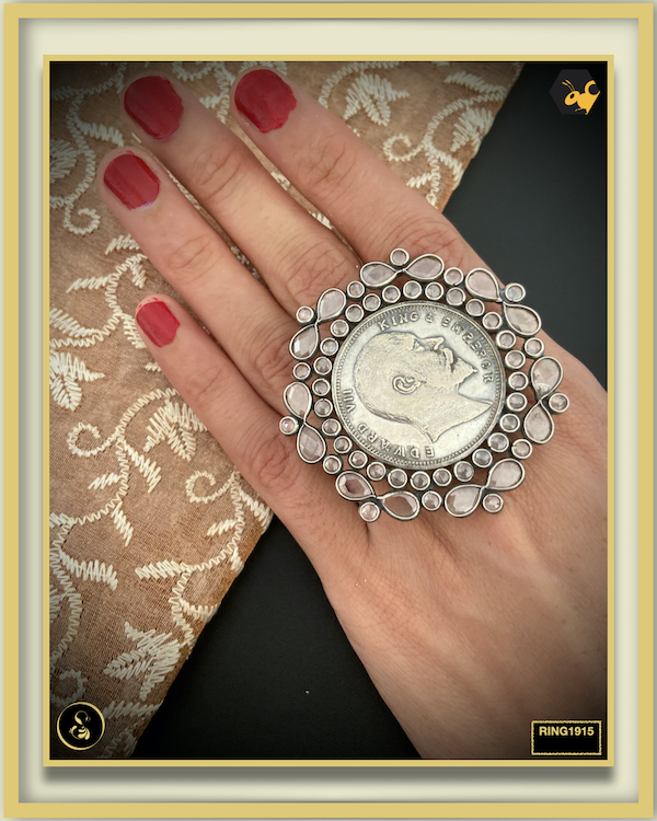 92.5 Silver Jewellery Ring RING1915
