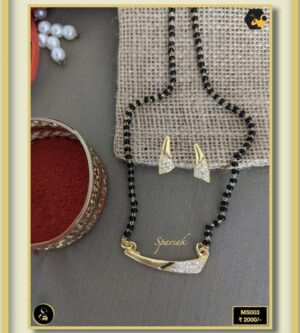92.5 Silver Jewellery Mangalsutra MS003