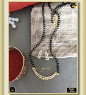 92.5 Silver Jewellery Mangalsutra MS006