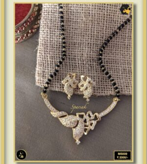 92.5 Silver Jewellery Mangalsutra MS009