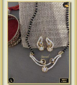 92.5 Silver Jewellery Mangalsutra MS013