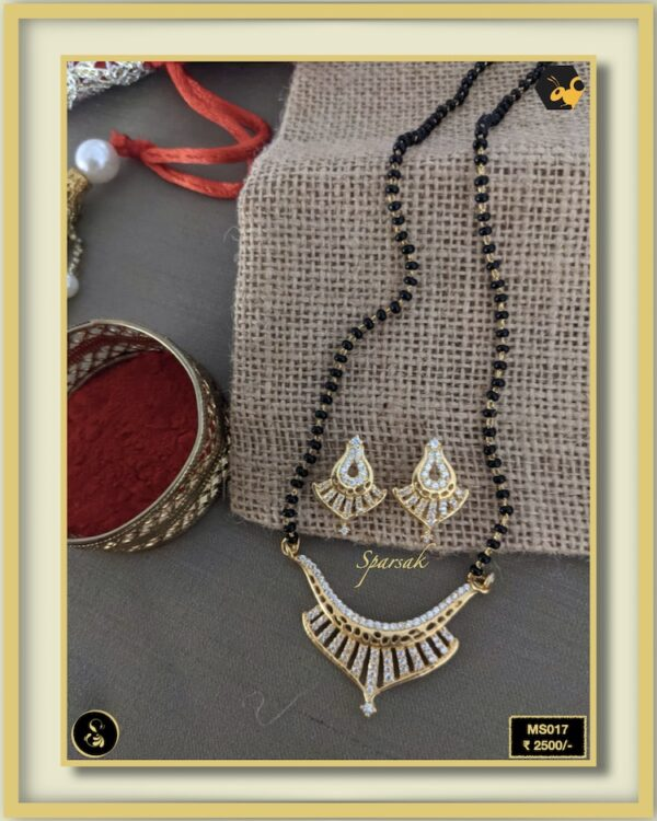 92.5 Silver Jewellery Mangalsutra MS017