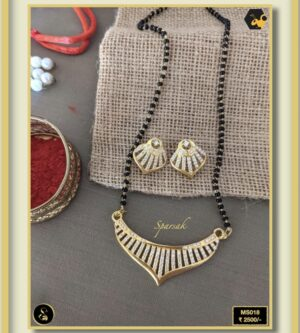 92.5 Silver Jewellery Mangalsutra MS018